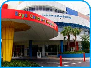 Royal Children's Hospital in Brisbane