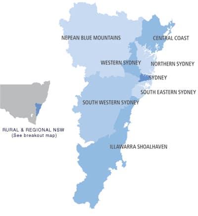 Metropolitan Local Health Districts