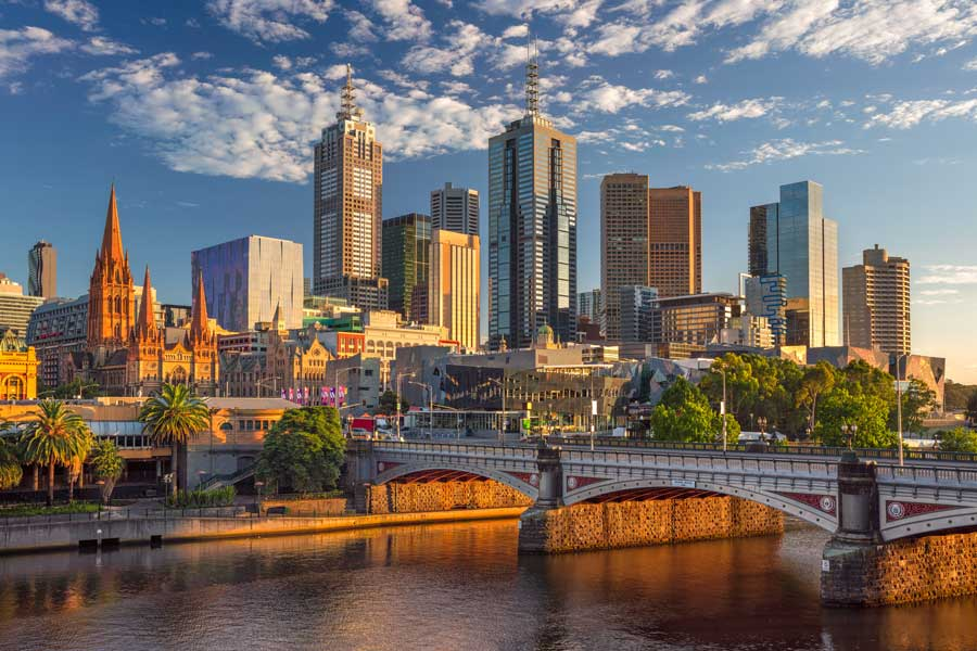 Melbourne The World S Most Liveable City Healthstaff